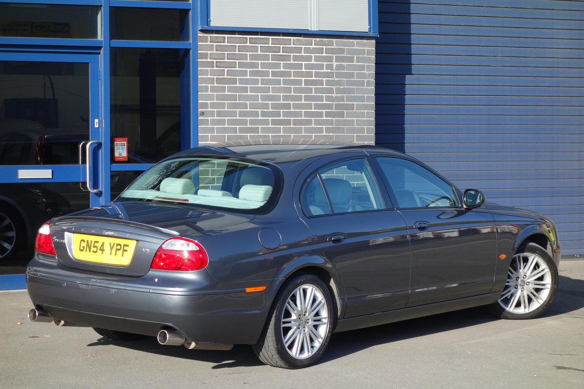 Jaguar S-Type 4.2 Sport Auto 2004/54 FSH 53000m 2005 Model For Sale (picture 3 of 6)