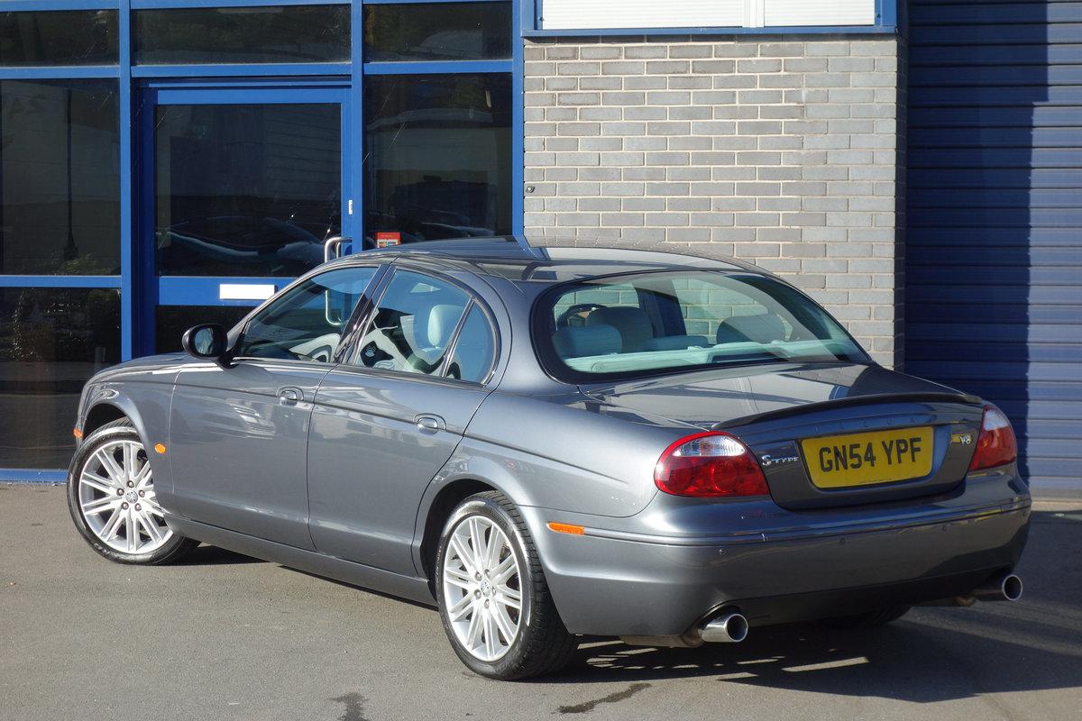 Jaguar S-Type 4.2 Sport Auto 2004/54 FSH 53000m 2005 Model For Sale (picture 4 of 6)
