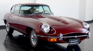 Picture of Jaguar E-type Series II FHC (1969) For Sale