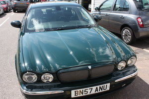 2007 Jaguar XJR 4.2 X356 Model British Racing Green For Sale