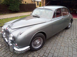 1962 Jaguar Mk2 3.4, manual with overdrive For Sale