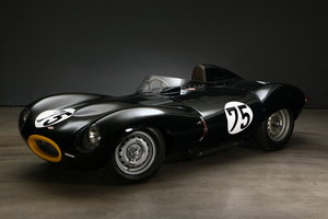 1955 Jaguar D-Type Short Nose Specifikation