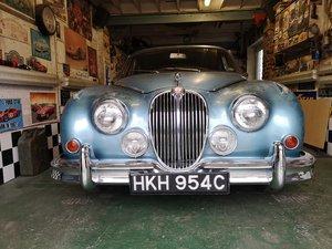 1965 Jaguar Mk2 3.8 Original UK right hand drive