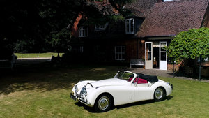 1953 Gorgeous XK 120 DHC For Sale