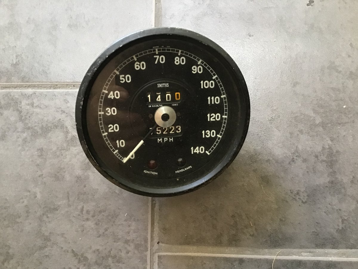 Jaguar dash instruments and gauges fr.1948 to 1971 For Sale (picture 4 of 6)