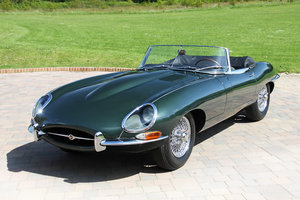 1964 Jaguar E Type Series 1 3.8 with just 51,346 miles from new For Sale