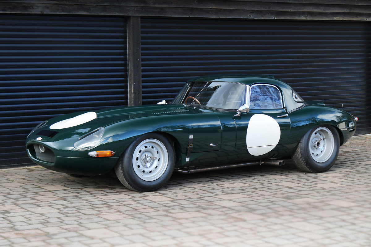 1961 Jaguar E-Type Lightweight with excellent history and spec For Sale (picture 2 of 6)