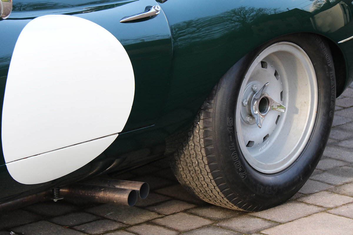 1961 Jaguar E-Type Lightweight with excellent history and spec For Sale (picture 3 of 6)