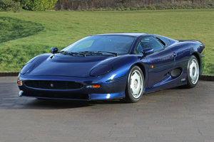 1992 Jaguar XJ220 with just 2,487 miles (4,003 kms) from new