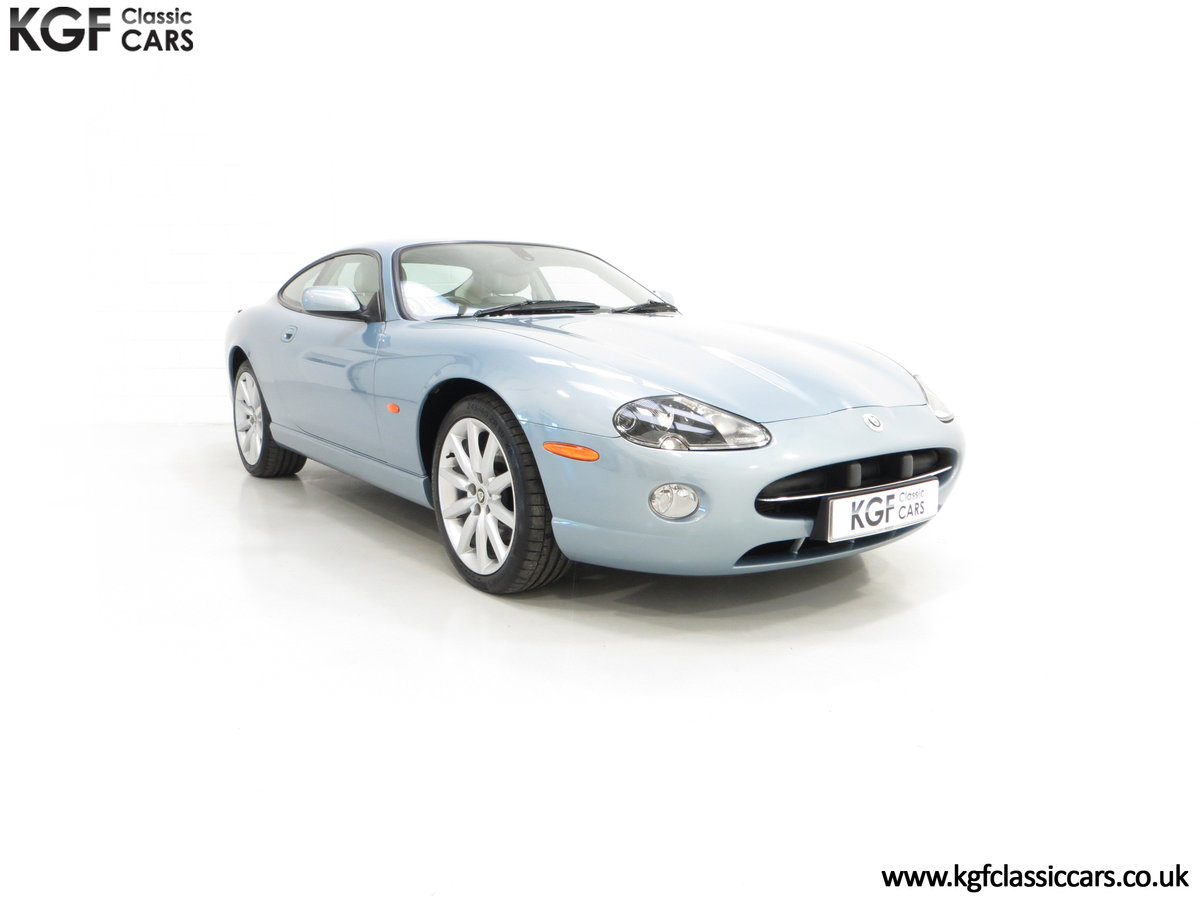 2005 A Pristine Jaguar XK8 4.2-S Coupe with 15,980 Miles For Sale (picture 1 of 6)