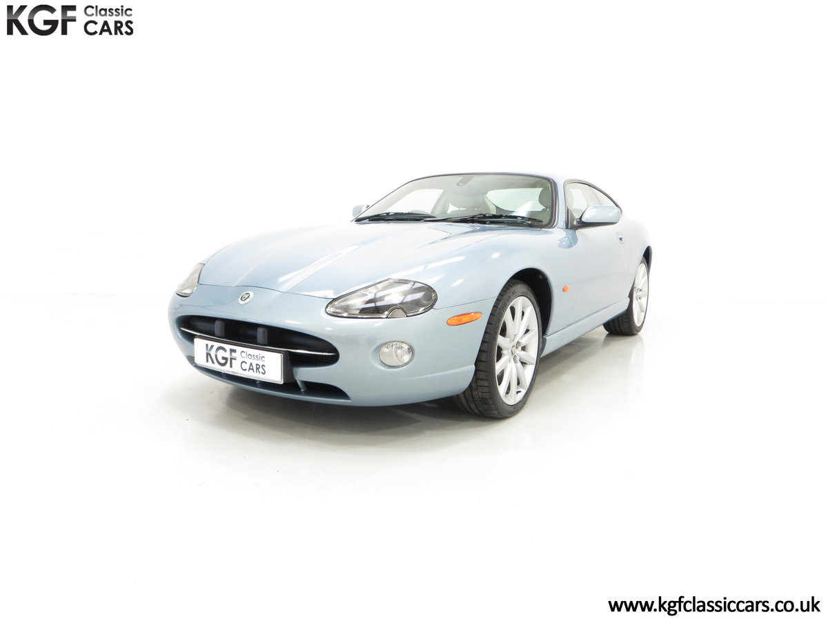 2005 A Pristine Jaguar XK8 4.2-S Coupe with 15,980 Miles For Sale (picture 2 of 6)