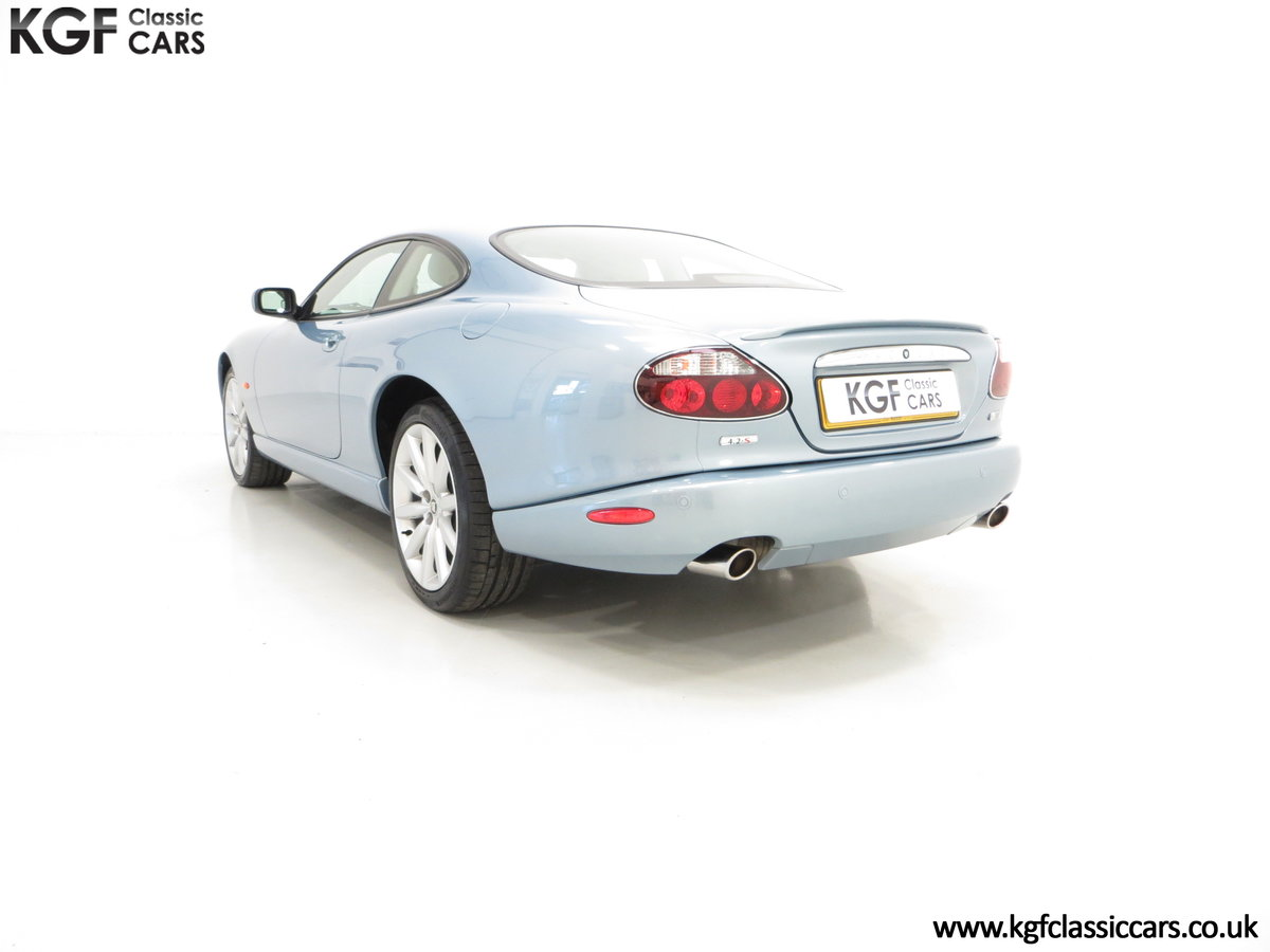 2005 A Pristine Jaguar XK8 4.2-S Coupe with 15,980 Miles For Sale (picture 4 of 6)
