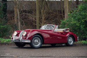 1955 JAGUAR XK 140 DROPHEAD COUPÉ + Overdrive