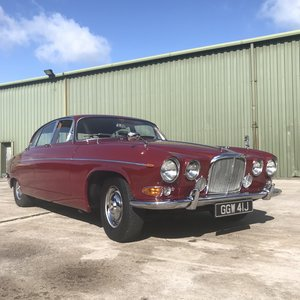 Jaguar 420G - 1970 Regency Red & Cinnamon Leather For Sale