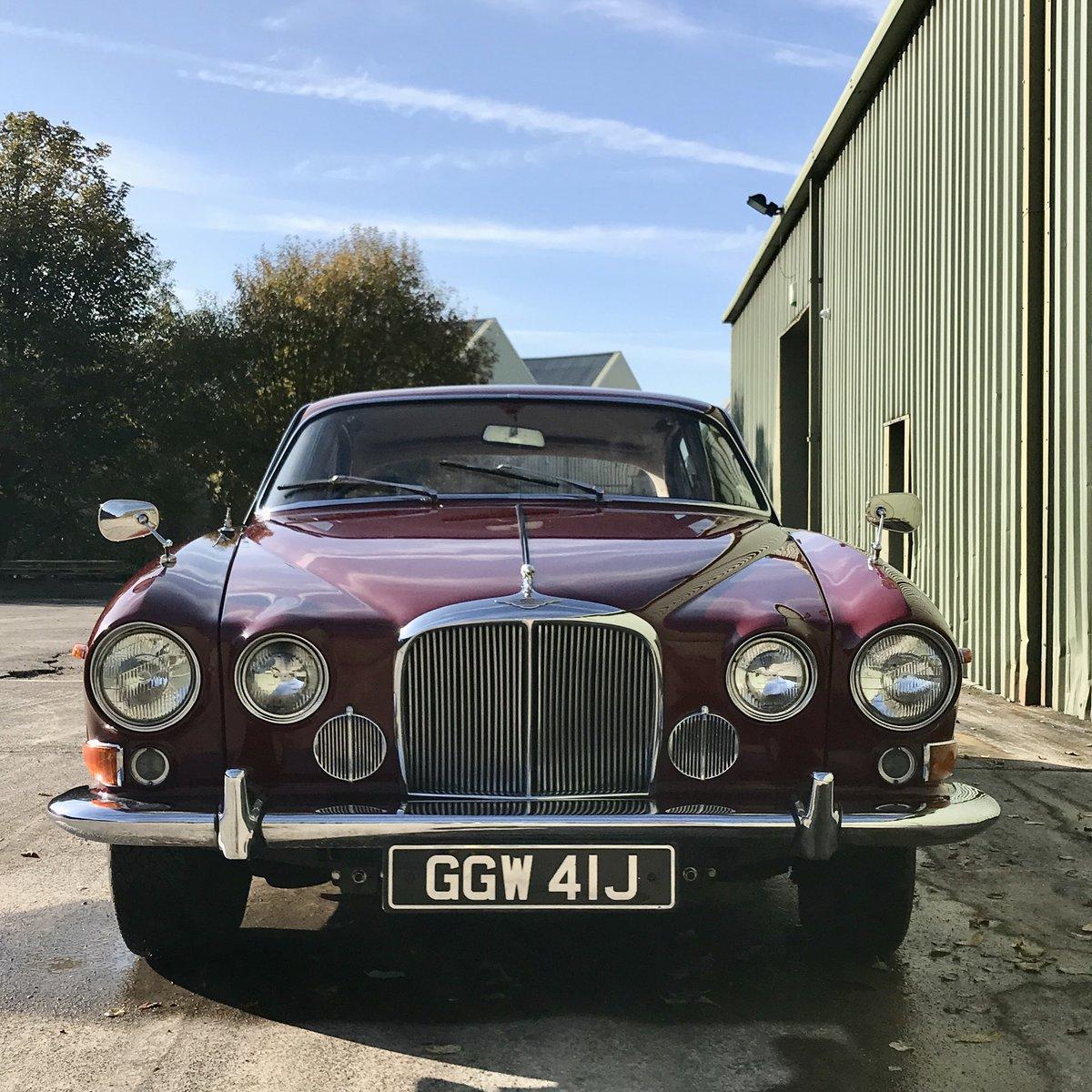 Jaguar 420G - 1970 Regency Red & Cinnamon Leather For Sale (picture 2 of 6)