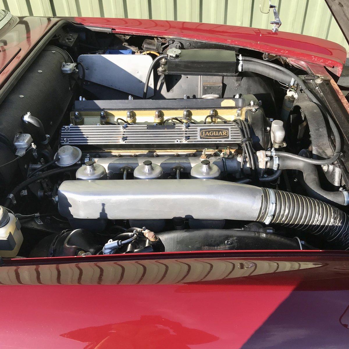 Jaguar 420G - 1970 Regency Red & Cinnamon Leather For Sale (picture 3 of 6)