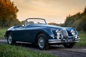 1958 Jaguar XK150 S 3.4 roadster in Cotswold Blue For Sale