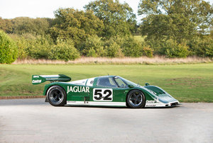 1985 Jaguar XJR6-285 Full works podium winner in debut race
