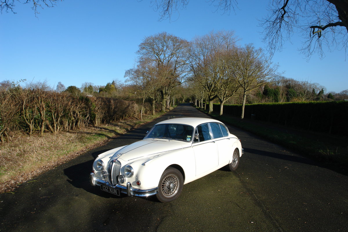 1962 Jaguar Mark II 1969 LHD 3.8l MOD / Overdrive  For Sale (picture 1 of 6)