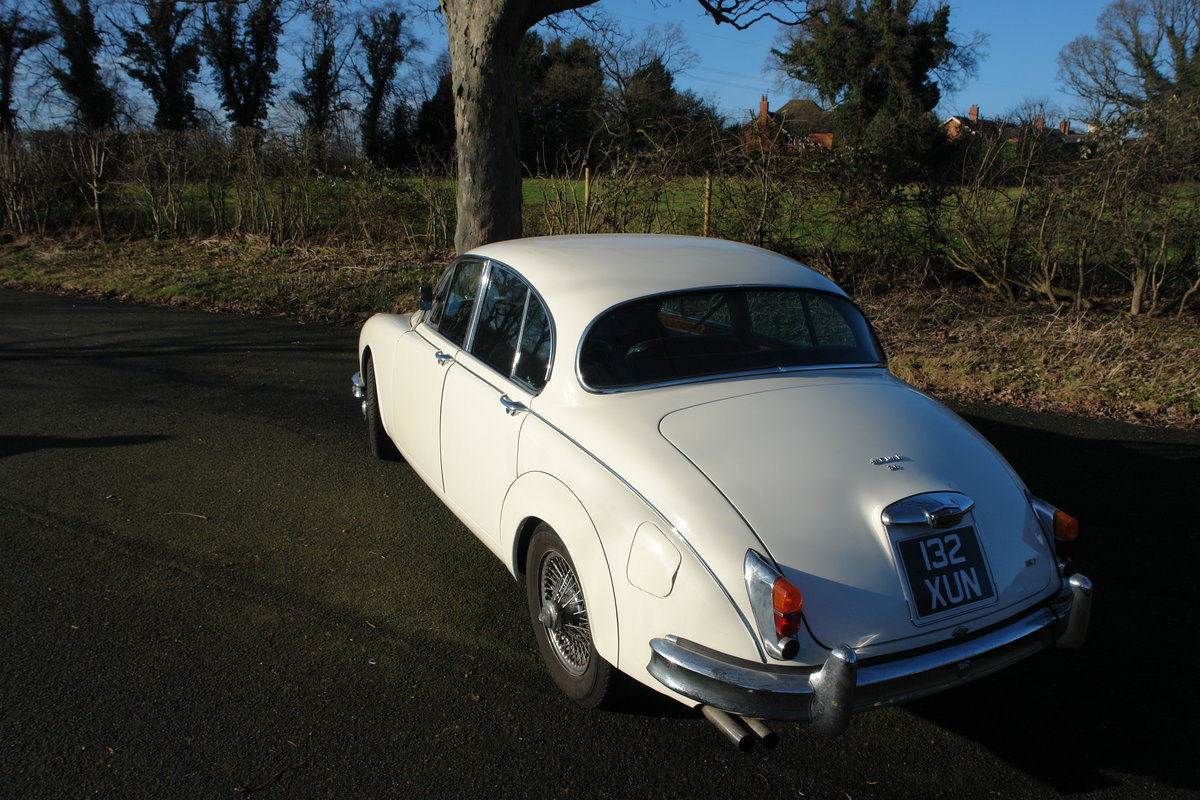 1962 Jaguar Mark II 1969 LHD 3.8l MOD / Overdrive  For Sale (picture 2 of 6)
