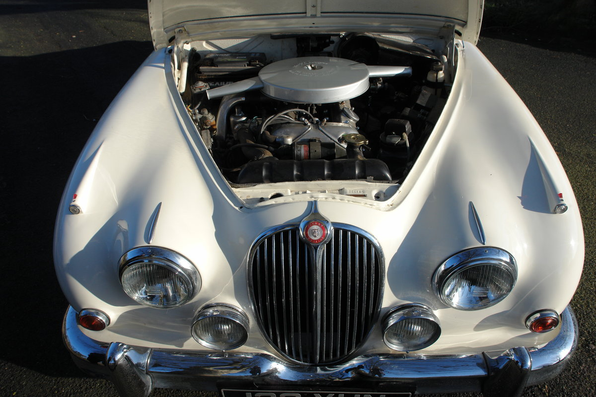 1962 Jaguar Mark II 1969 LHD 3.8l MOD / Overdrive  For Sale (picture 5 of 6)