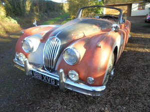 Jaguar XK140 DHC for Restoration