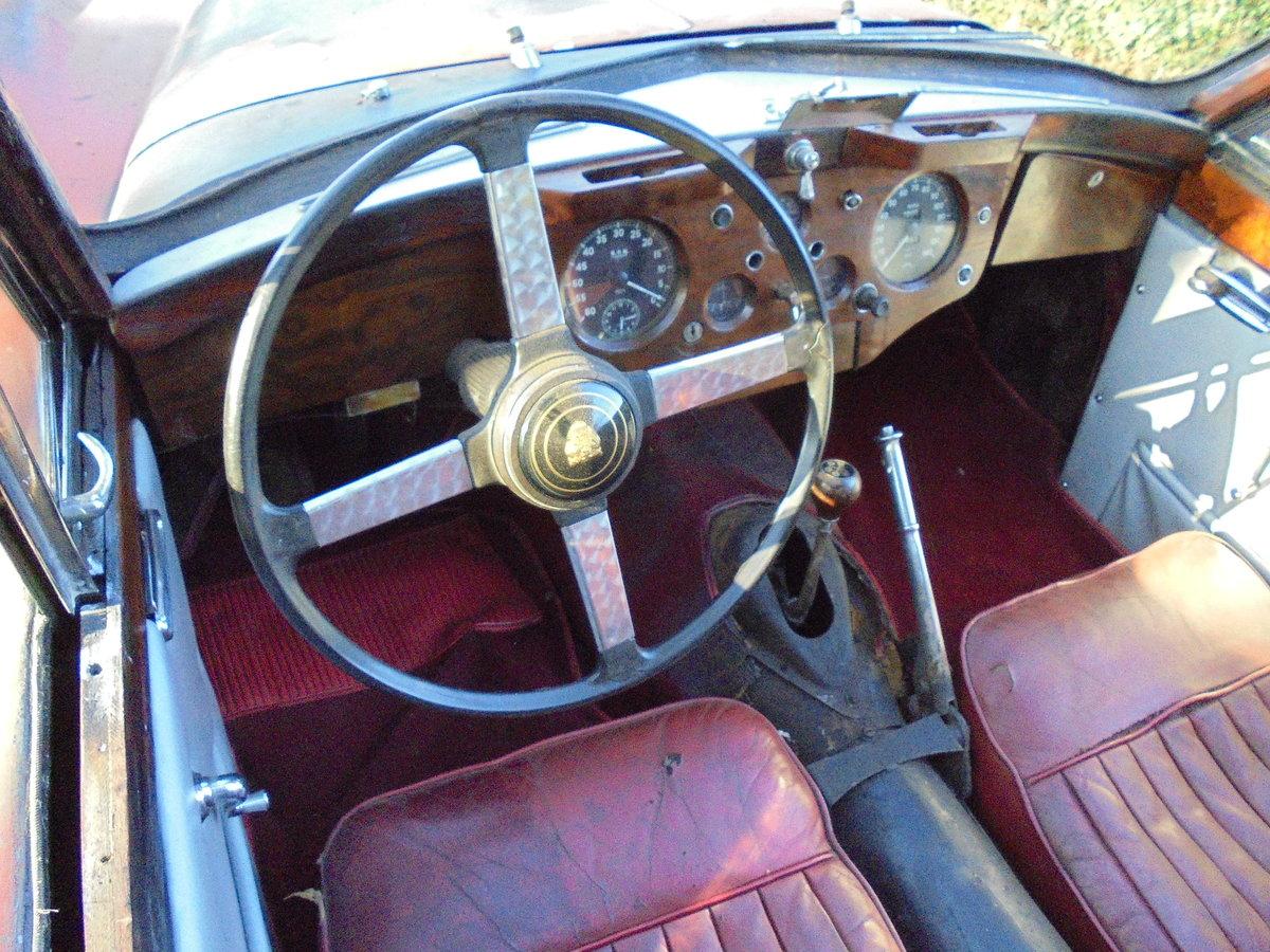 1957 Jaguar XK140 DHC for Restoration SOLD (picture 3 of 6)