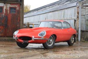 1965 Jaguar Type E 4,2L coupé For Sale by Auction