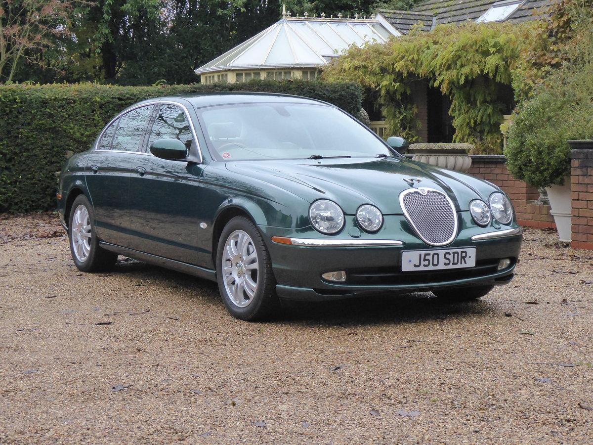 2004 Jaguar S Type 3.0 V6 SE Full Jaguar Service History ...