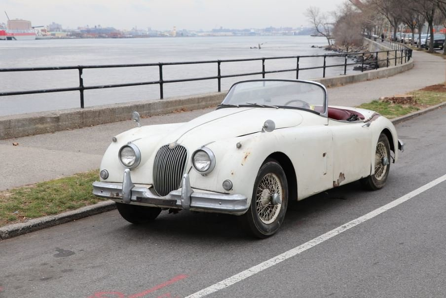 1958 Jaguar XK150 3.4 roadster project For Sale (picture 1 of 6)