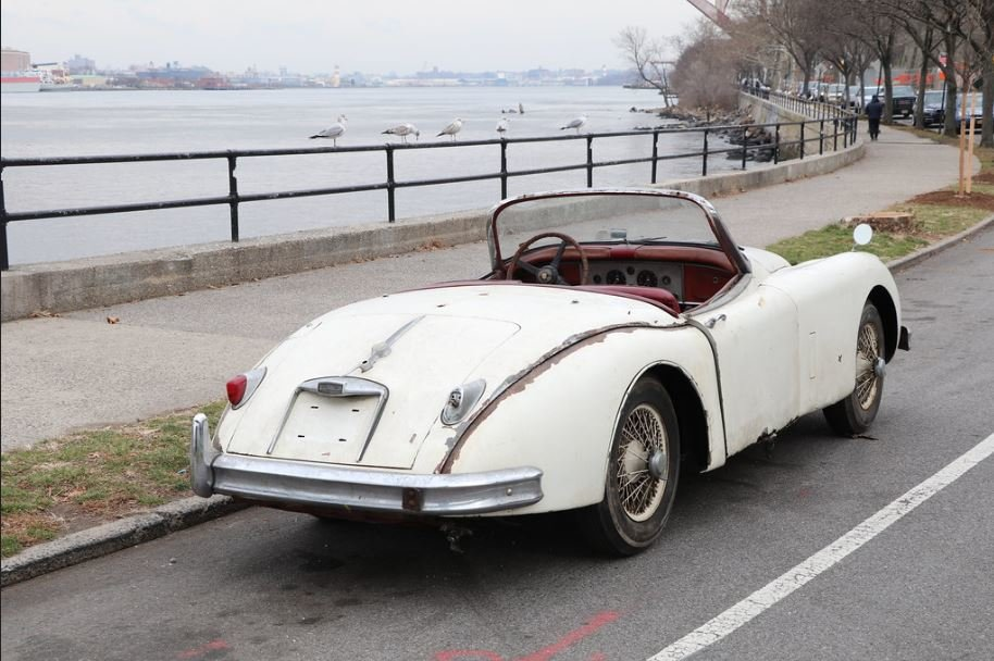 1958 Jaguar XK150 3.4 roadster project For Sale (picture 2 of 6)