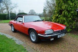 1990 Jaguar XJS V12 Convertible For Sale by Auction