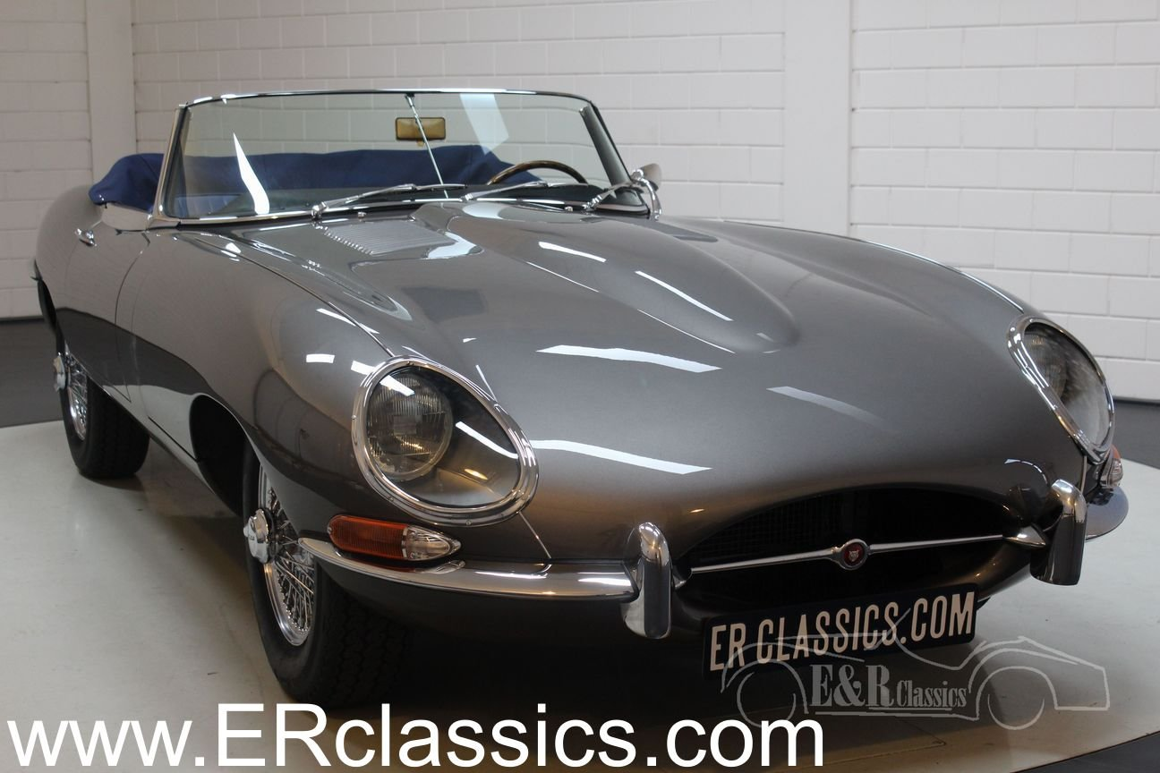Jaguar E-Type S1 Cabriolet 1965 Top restored For Sale (picture 1 of 6)