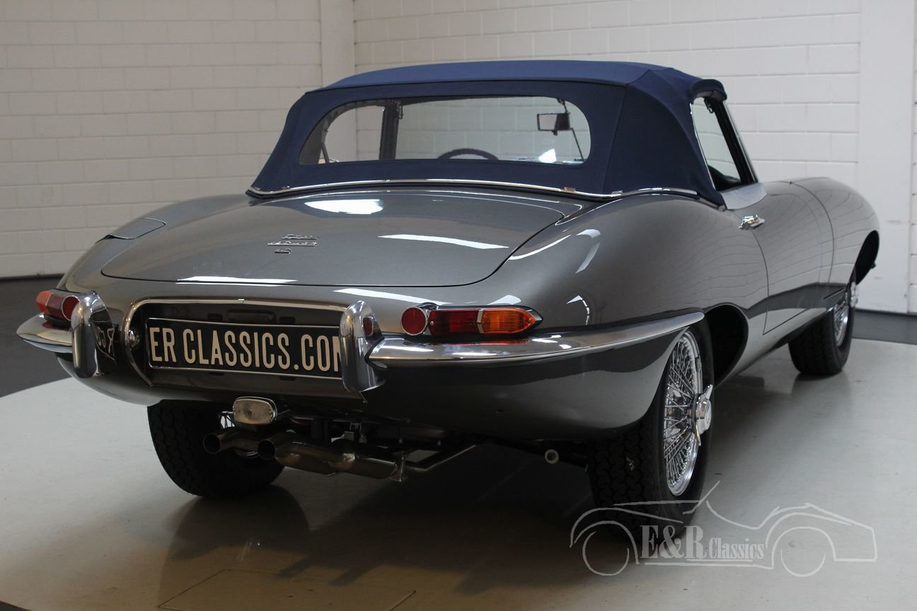 Jaguar E-Type S1 Cabriolet 1965 Top restored For Sale (picture 5 of 6)