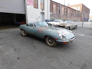 1969 Jaguar XKE S-II Roadster For Restoration - For Sale