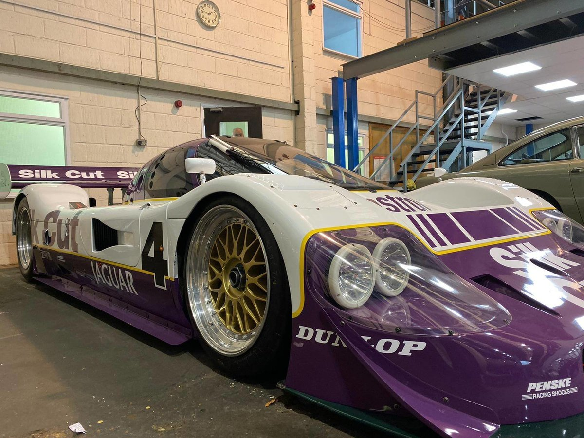 1989 Jaguar XJR 11- Chassis Number: 590 For Sale by Auction (picture 2 of 6)
