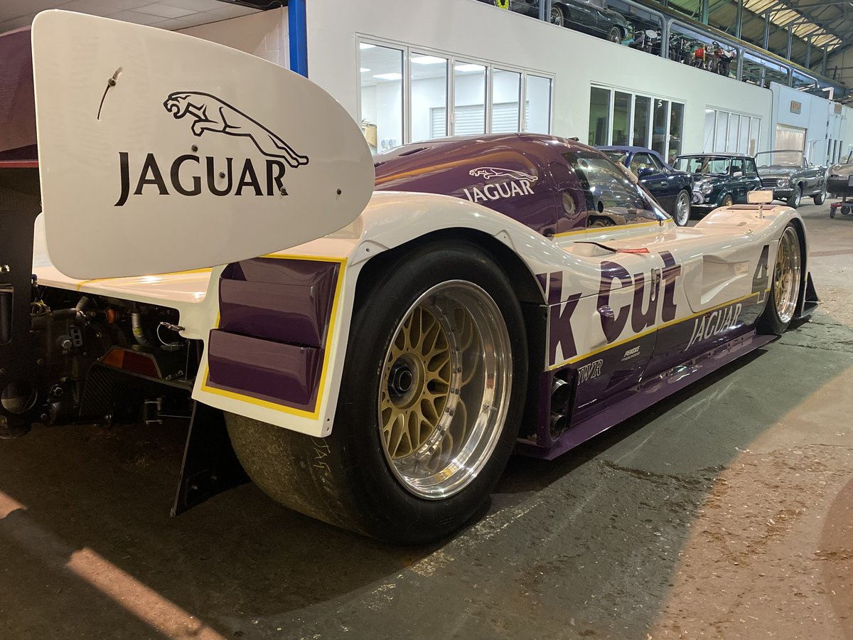 1989 Jaguar XJR 11- Chassis Number: 590 For Sale by Auction (picture 4 of 6)