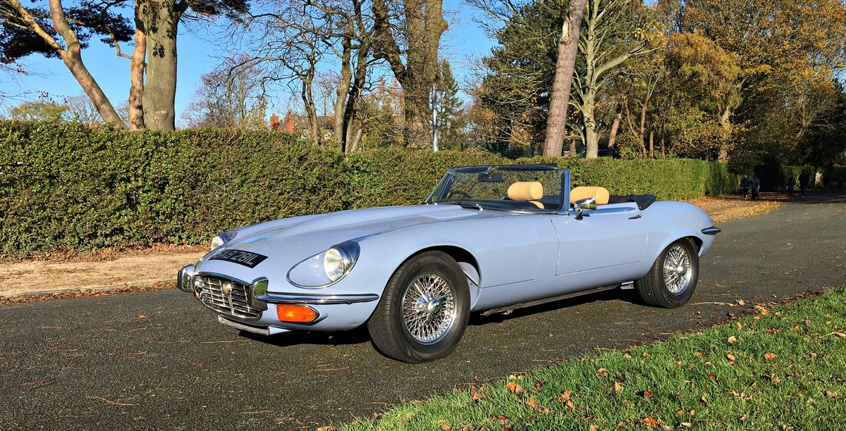 1973 JAGUAR E TYPE V12 MANUAL. UK CAR For Sale | Car And ...