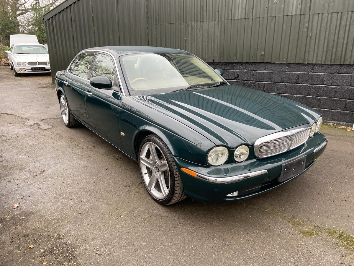 2007 Jaguar Sovereign SUPERCHARGED 4.2 LWB 47k miles For Sale (picture 1 of 6)