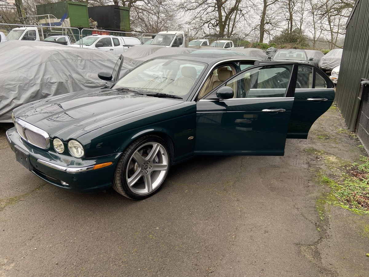 2007 Jaguar Sovereign SUPERCHARGED 4.2 LWB 47k miles For Sale (picture 3 of 6)