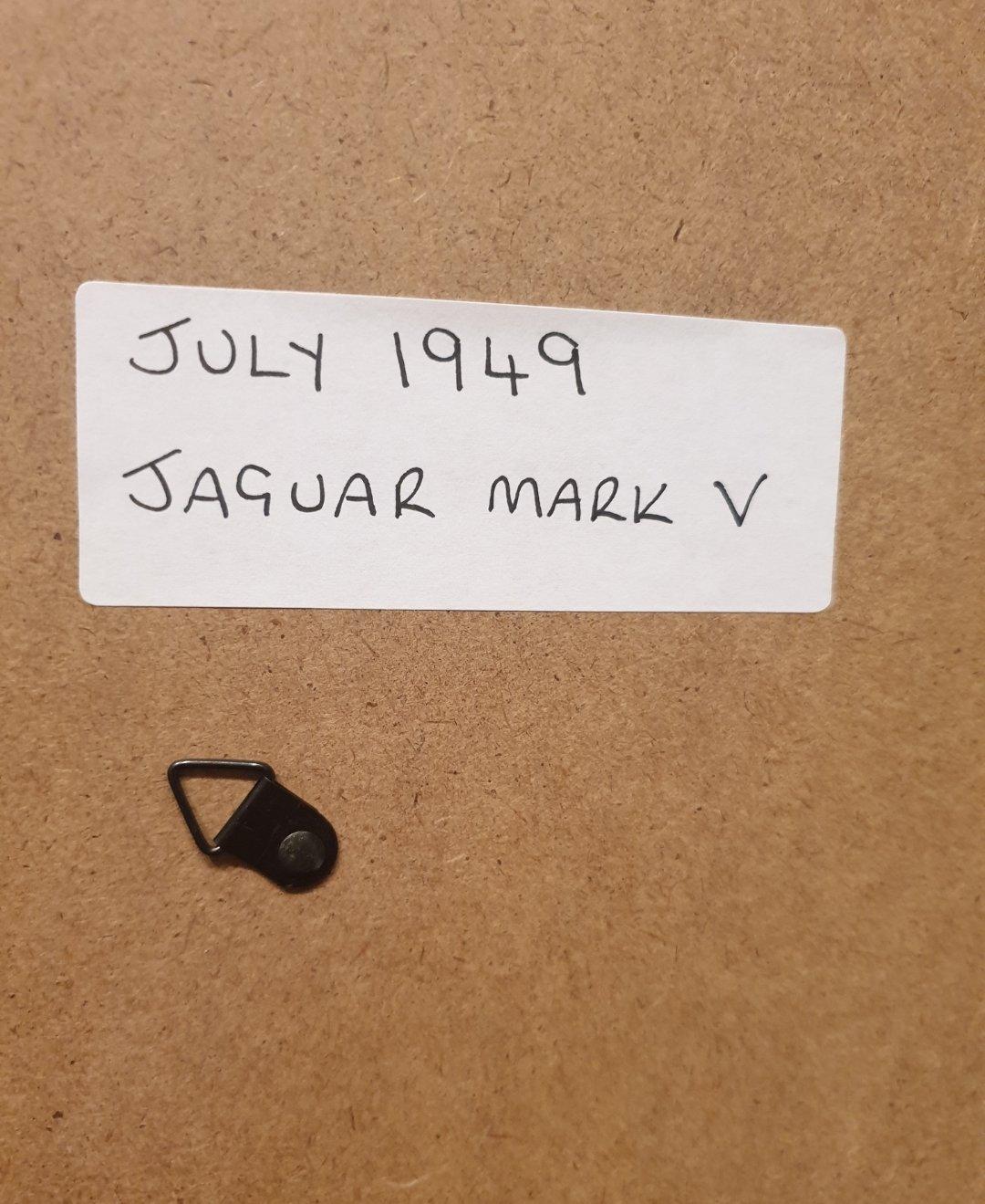1949 Jaguar MK V Framed Advert Original  For Sale (picture 2 of 2)