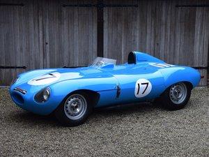 1957 Jaguar D-Type recreation by Simon Dunford