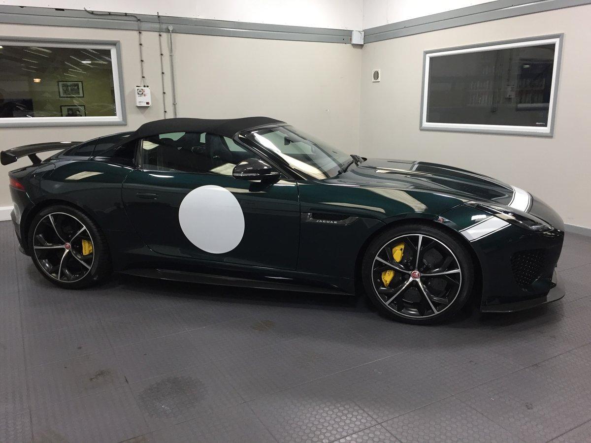 2016 Jaguar F Type Project 7 VAT QUALIFYING For Sale (picture 6 of 6)