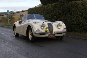 Picture of 1954 Jaguar XK120 Roadster, Incredibly Original, Race History For Sale