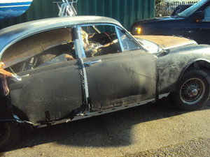 Picture of 1966 JAGUAR S TYPE 3.8 MANUAL EX POLICE INTERSEPTRE breaking all