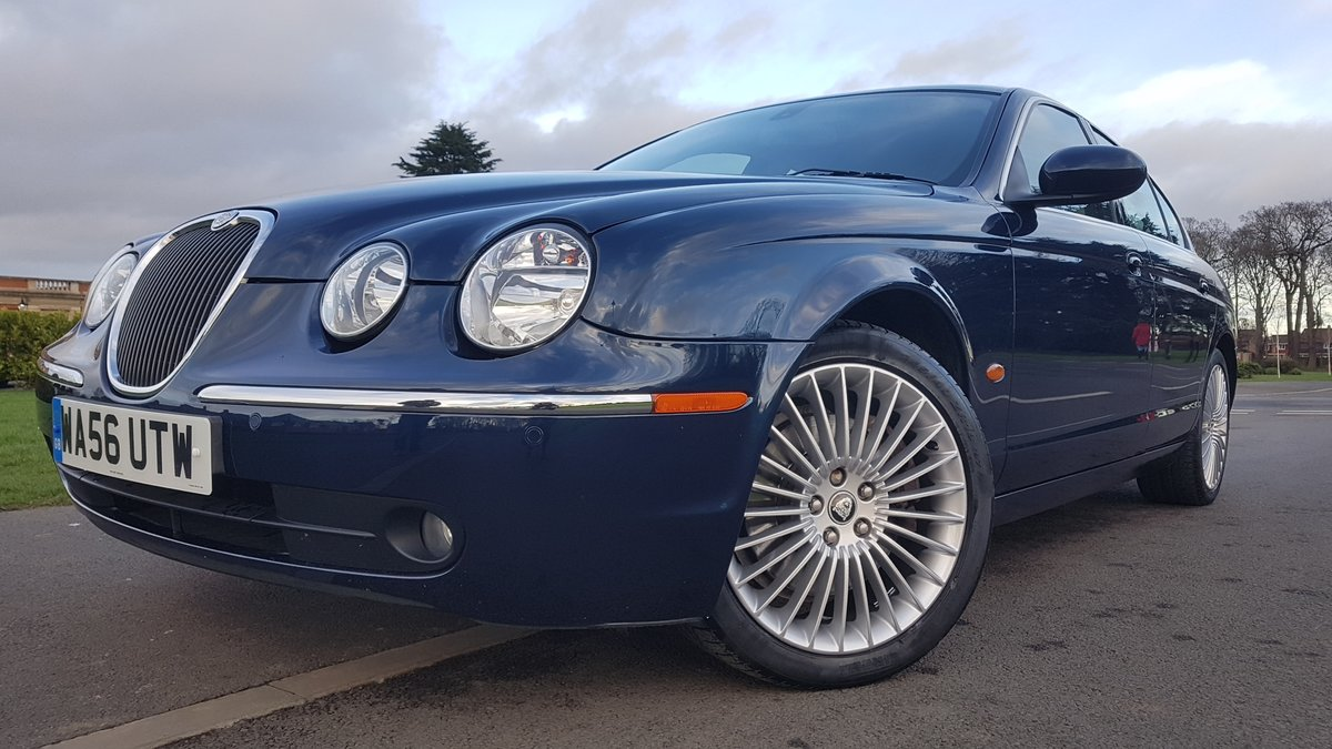 2006 56 jaguar s type 4.2 v8 se only 58k miles fsh For Sale (picture 2 of 6)