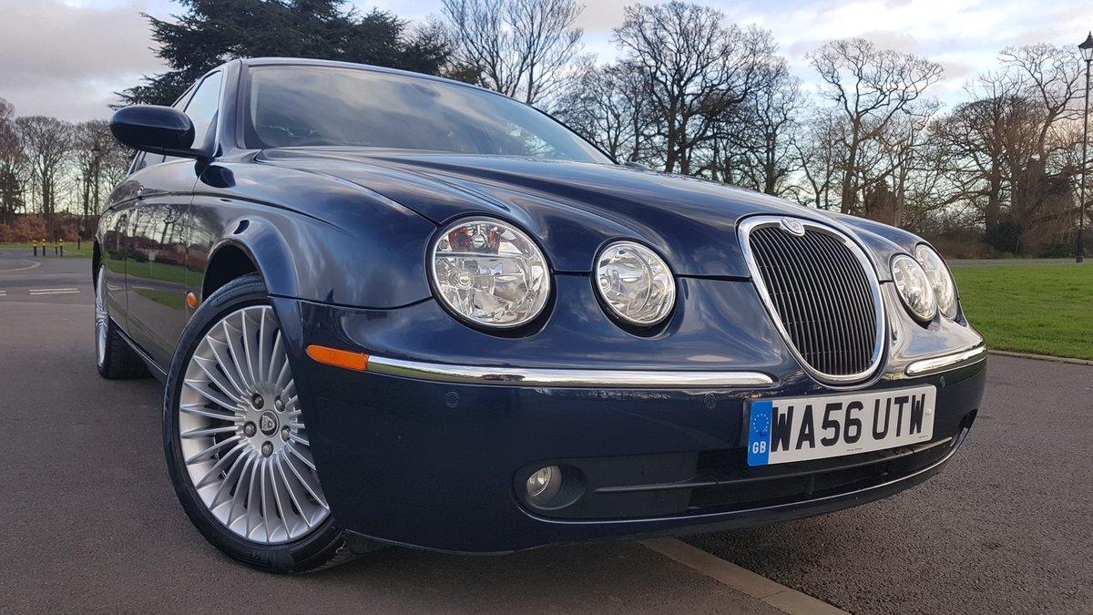 2006 56 jaguar s type 4.2 v8 se only 58k miles fsh For Sale (picture 4 of 6)