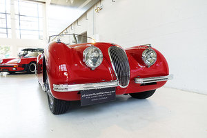 Picture of 1951 original match. numbers RHD XK120 OTS, restored SOLD