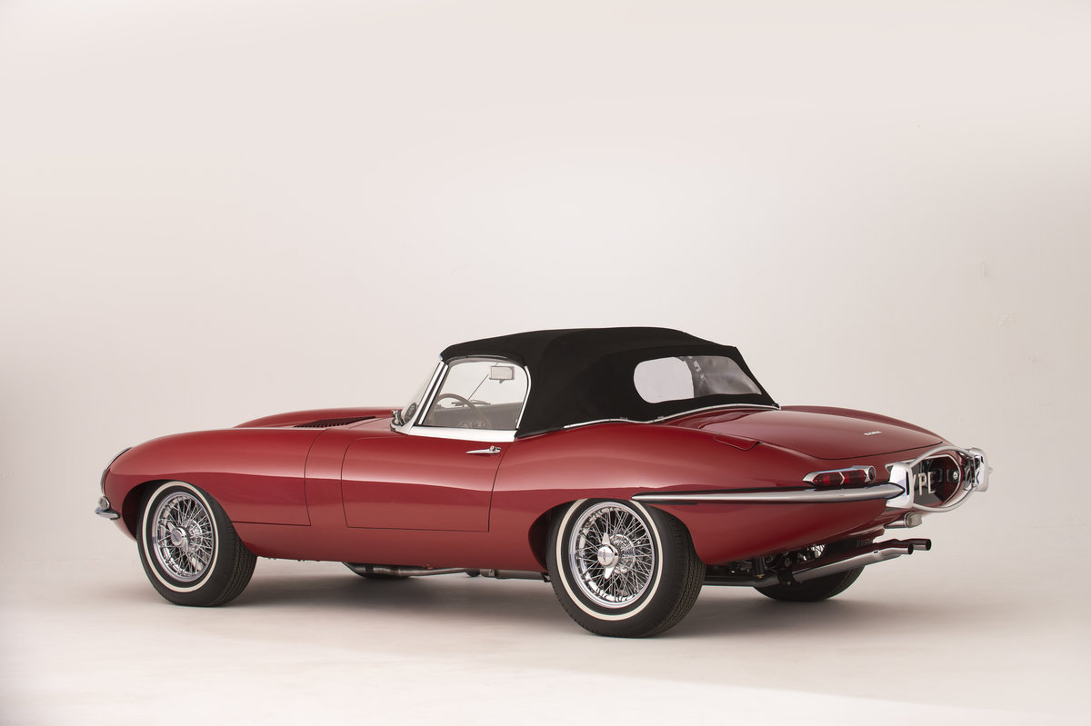 1961 Jaguar Series 1 E-Type 3.8  Pumpkin Head Roadster LHD For Sale (picture 4 of 6)