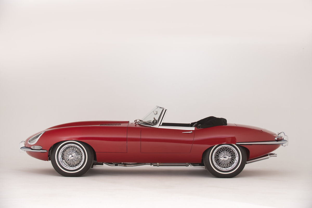 1961 Jaguar Series 1 E-Type 3.8  Pumpkin Head Roadster LHD For Sale (picture 2 of 6)